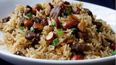 Arroz de churrasco