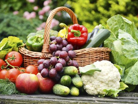 APROVEITE OS NUTRIENTES DAS FRUTAS E VERDURAS DA ESTAÇÃO!