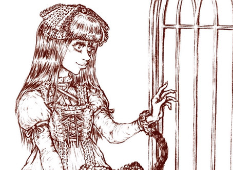 At Home Lolita Project Contest Lineart