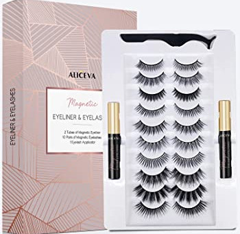Review: Aliceva Magnetic Eyeliner and Lashes