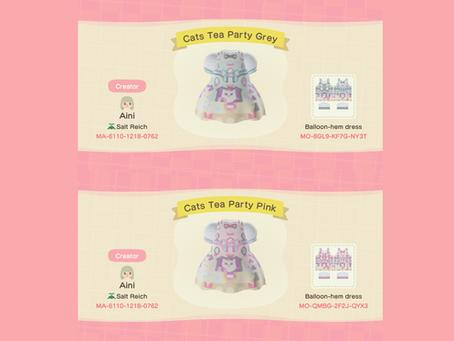 Animal Crossing Design: Lolita - Angelic Pretty Cat's Tea Party