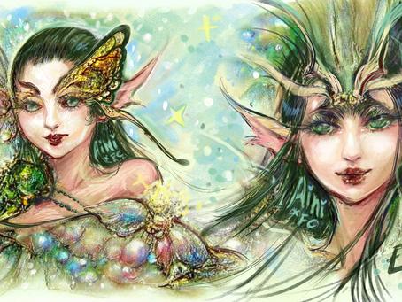 [AI Collab] Fairy Portrait