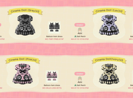 Animal Crossing Design: Lolita - Angelic Pretty Cinema Doll