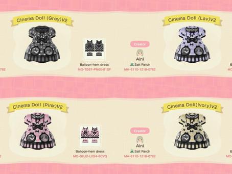 Animal Crossing Design: Lolita - Angelic Pretty Cinema Doll