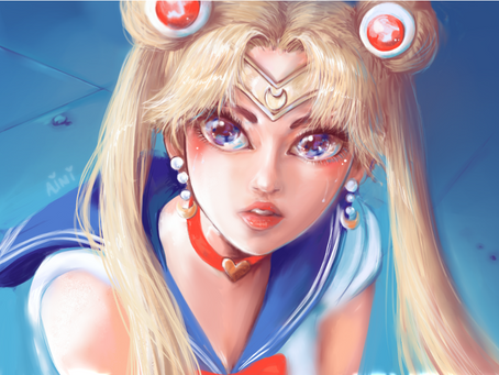 Sailor Moon Redraw Challenge