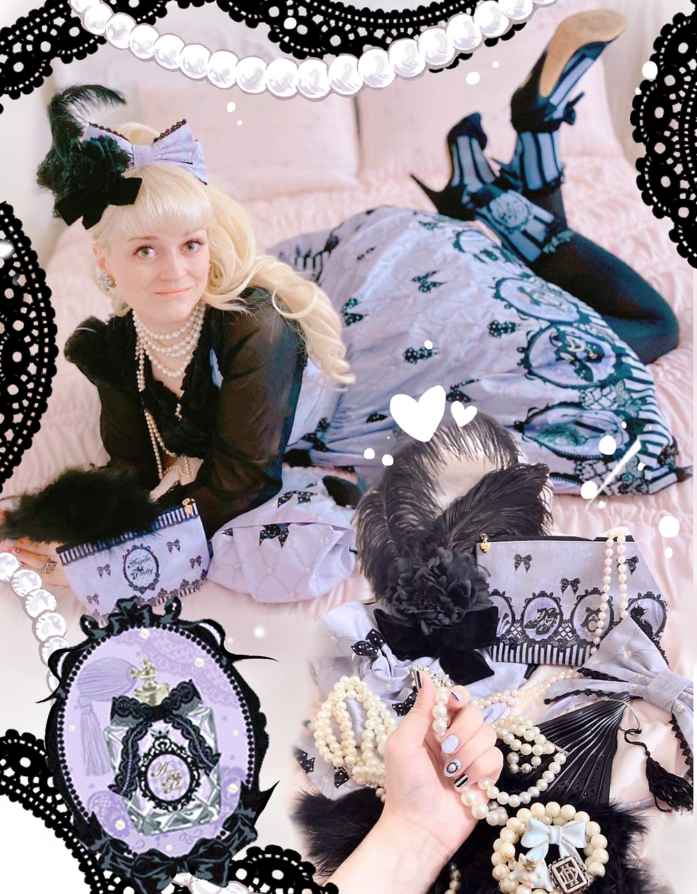 Aini Angelic Pretty Cinema Doll Collage