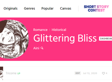 Comic Strip: Glittering Bliss - Tricorne