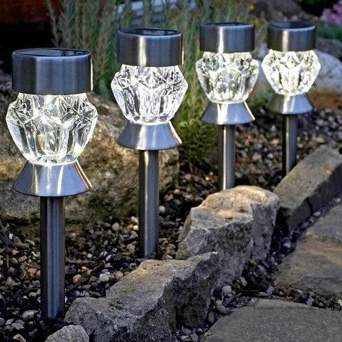 Crystal Glass Stake 4pk