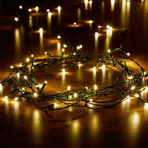 100 LED Warm White String Lights