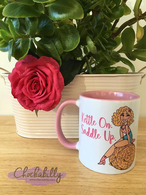 Chockabella 'Saddle Up' Mug