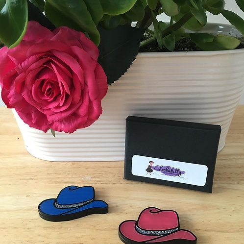 Missy's Cowgirl Hat Brooch