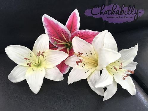 Lily Hair Flower Range