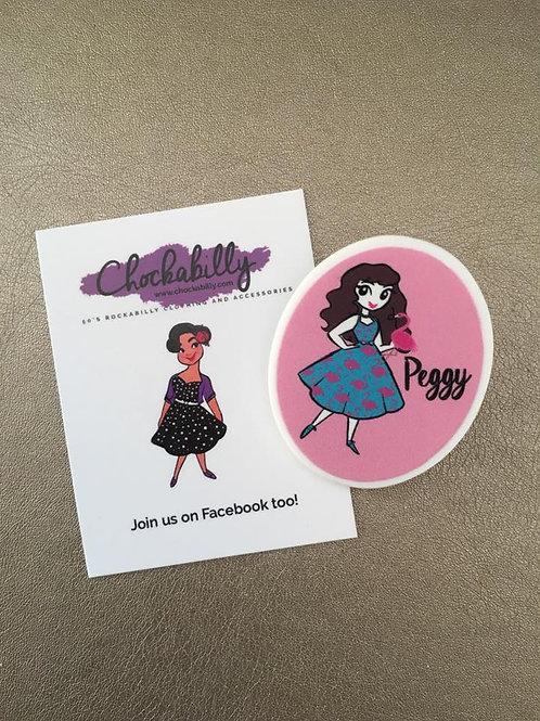 Exclusive Chockabella 'Peggy' Brooch