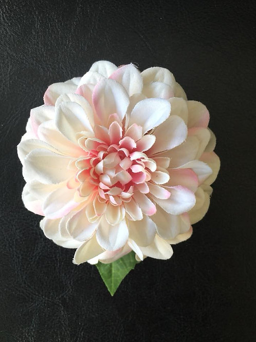Zinnia Hair Flower