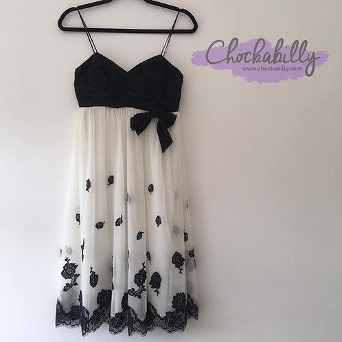 Anne Klein Monochrome Dress