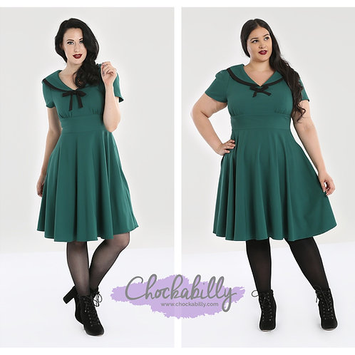 Hell Bunny 'Thea' 40s Dress