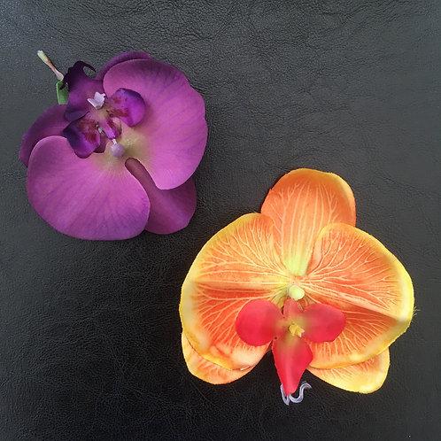 Orchid Hair Flower