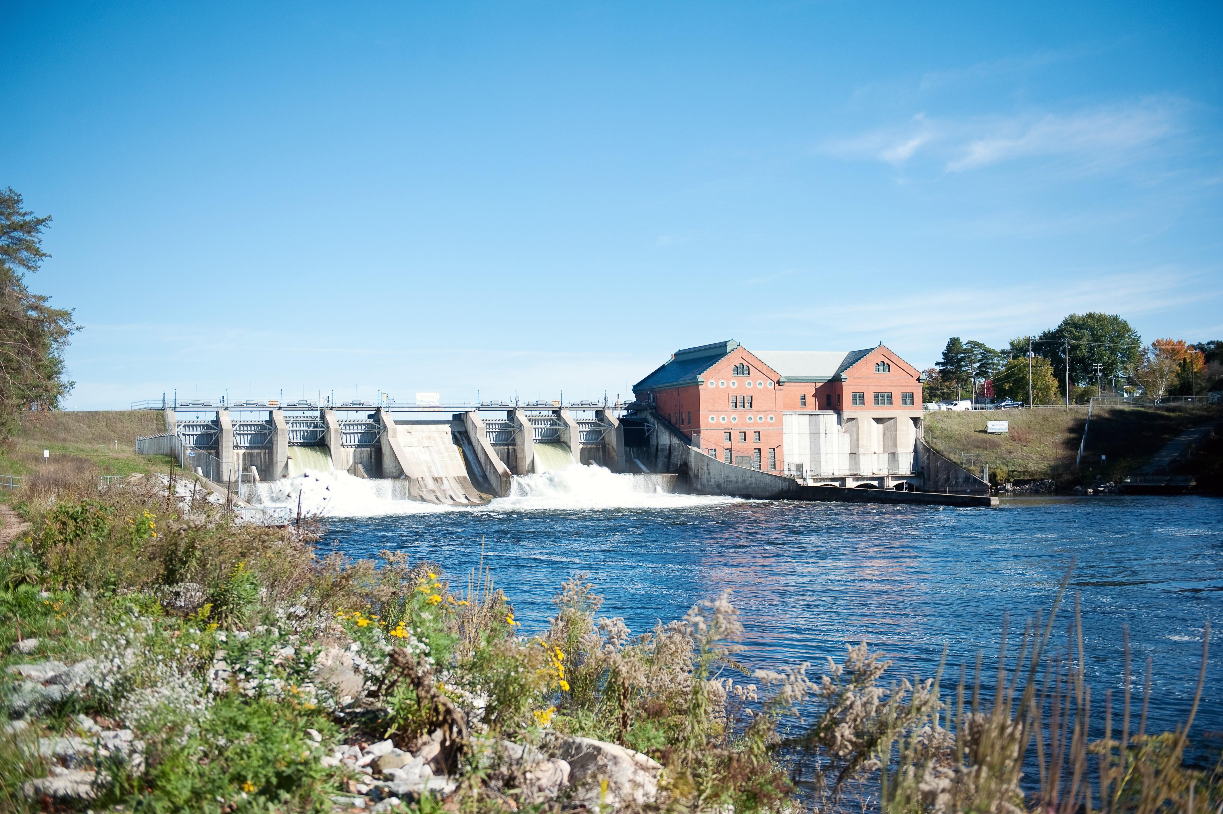 Newaygo County Dam