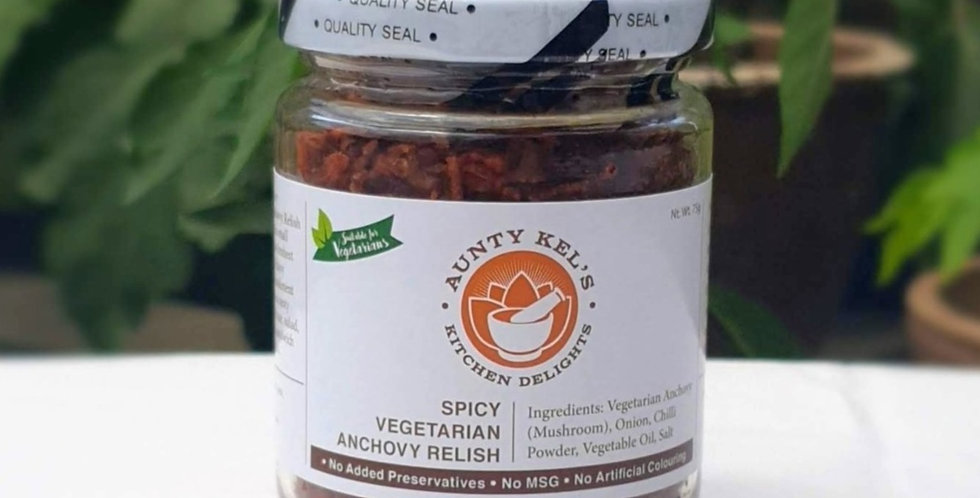 Spicy Vegetarian Anchovy Relish