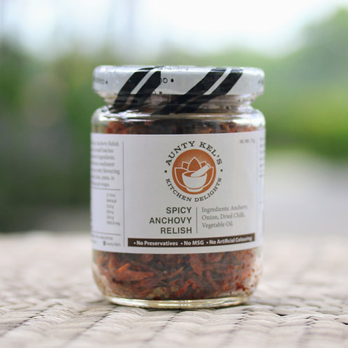 Spicy Anchovy Relish