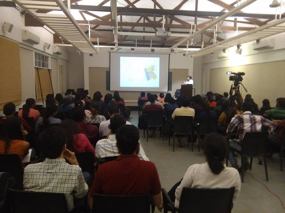 LECTURE AT CEPT, AHMEDABAD