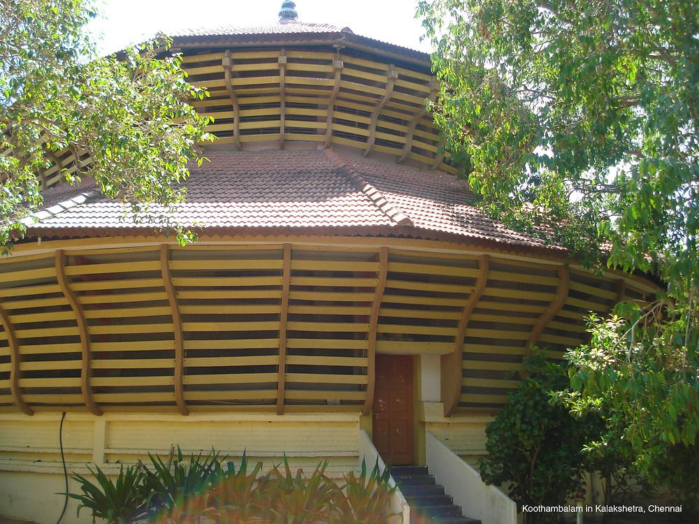 renovation of the Kalakshetra Theatre