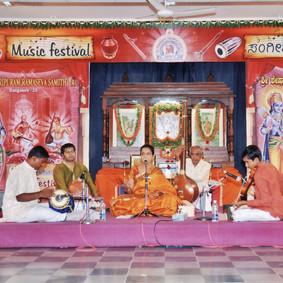 Ramanavami Concert at Seshadripuram Ramotsava Samithi