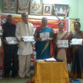 Release function of the book 'Pre-Trinity Sanskrit Compositions in Carnatic Music'