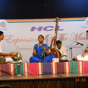HCL Concert Series, Music Academy, Chennai