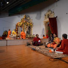 Navaratri concert at Sri Ganapathi Sacchidananda Ashrama, Mysore