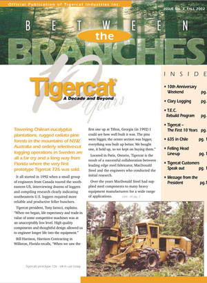 Tigercat 10th Anniversary