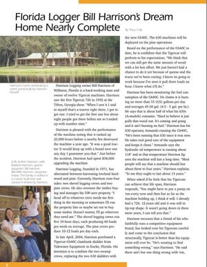 Florida Logger's Dream Home