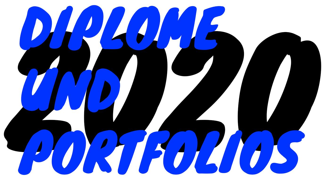 Diplome und Portfolios 2020