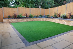 Artificial turf for landscape site.jpg
