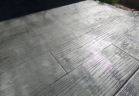 blue wooden stamped concrete part 2 thum