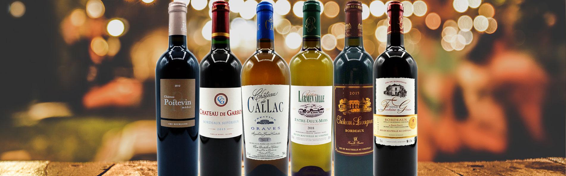 Bordeaux Weinpaket