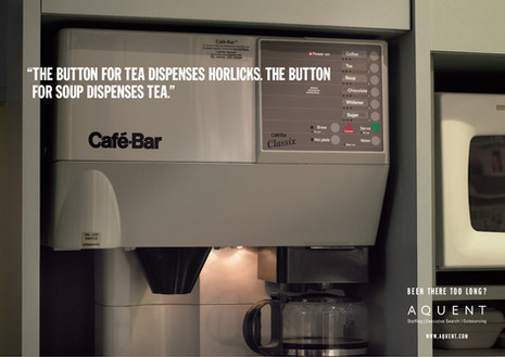 Been there too long: 'Coffee Machine'
