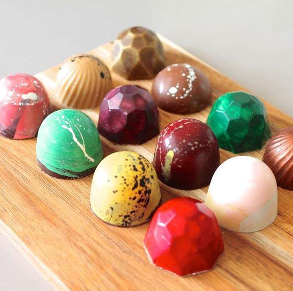 tilly wonka chocolate handmade in Northwich Cheshire - chocolate art