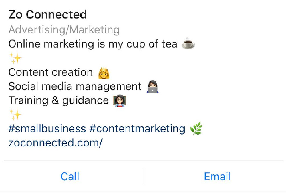 Instagram marketing Cheshire - Zo Connected
