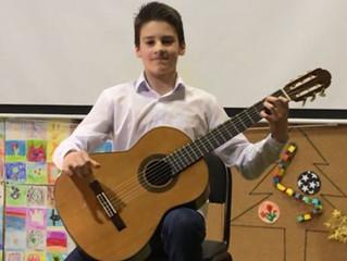 Отчётный сольный концерт Левцева Романа, 14 лет.