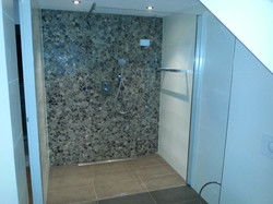 Badkamer natuursteen