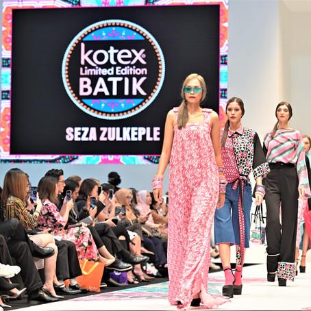 Sanitary Pads meet Fashion Through Kotex Batik Collection at KLFW 2019