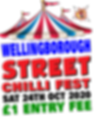 WELLINGBOROUGH STREET CHILLI FIEST 2020.