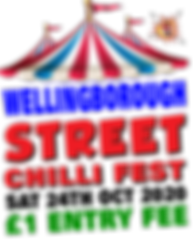 WELLINGBOROUGH STREET CHILLI FIEST 2020.