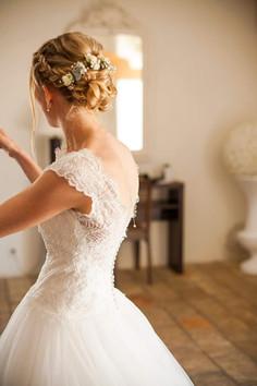 Chignon mariée montpellier