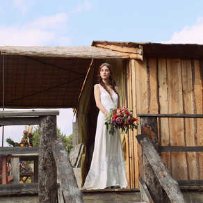 Shooting d'inspiration mariage  au domaine Sainte Colombe