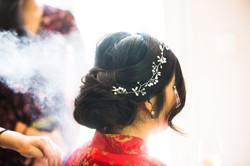Chignon mariée