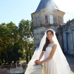Shooting d'inspiration mariage au Château Sainte Cécile