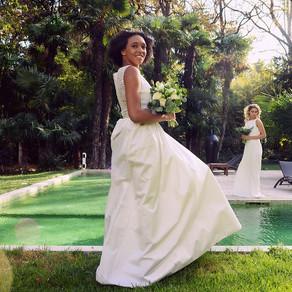 Shooting d'inspiration mariage au Mas Merlet