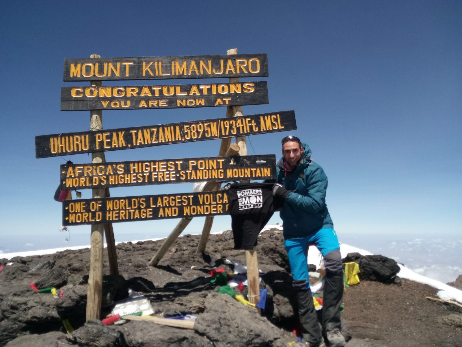 Mata en el Kilimanjaro